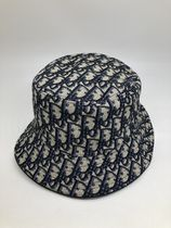 Christian Dior DIOR OBLIQUE Unisex Street Style Wide-brimmed Hats