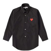 PLAY COMME des GARCONS Street Style Kids Girl Tops