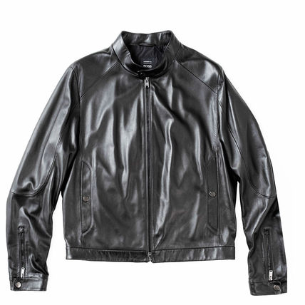 Street Style Leather Biker Jackets