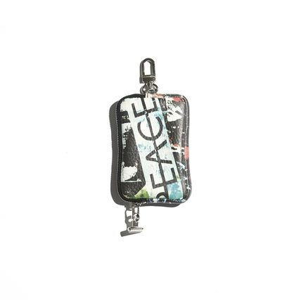 Unisex Street Style Coin Cases
