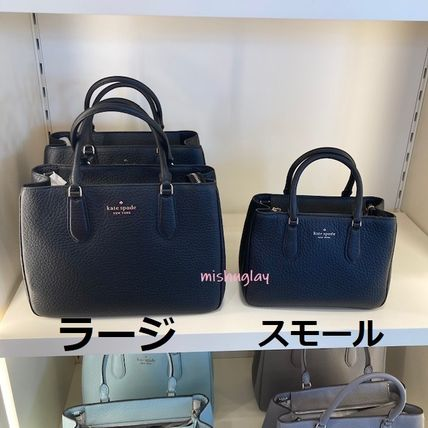 kate spade new york 2WAY Plain Leather Office Style Elegant Style Formal Style