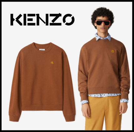 KENZO Sweatshirts Long Sleeves Cotton Designers Sweatshirts