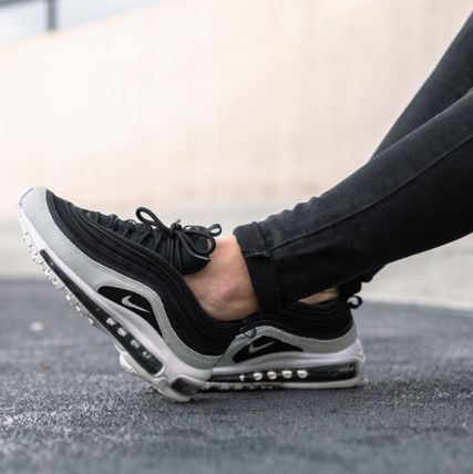 Nike AIR MAX 97 Rubber Sole Casual Style Unisex Sport Sandals Logo