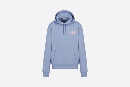 Christian Dior Logo Luxury Long Sleeves Cotton Hoodies