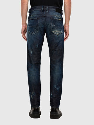 DIESEL JOGG JEANS Blended Fabrics Street Style Plain Cotton Jeans
