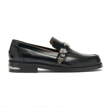 TOGA Loafers Plain Leather Loafers & Slip-ons