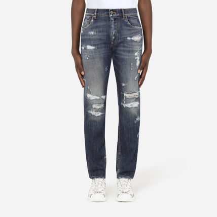 Dolce & Gabbana More Jeans Denim Street Style Plain Jeans 2