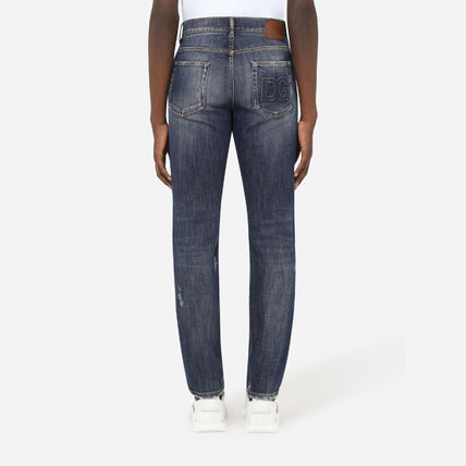 Dolce & Gabbana More Jeans Denim Street Style Plain Jeans 3