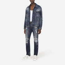 Dolce & Gabbana More Jeans Denim Street Style Plain Jeans 6
