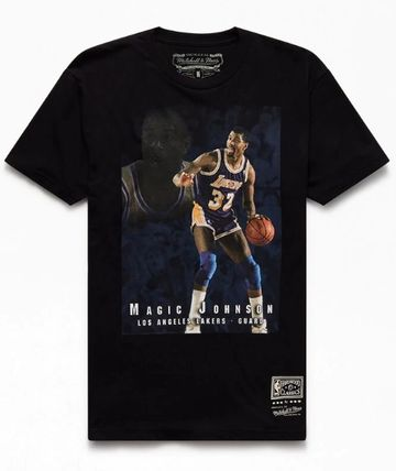 Mitchell&Ness More T-Shirts Street Style Short Sleeves Logo T-Shirts 2