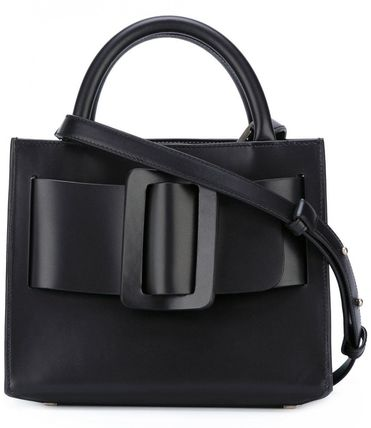 Casual Style 2WAY Plain Leather Elegant Style Shoulder Bags