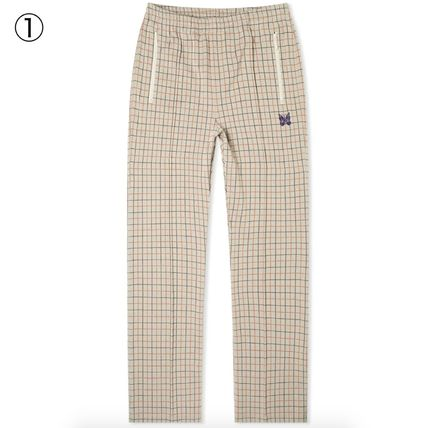 Needles Other Plaid Patterns Printed Pants Street Style Tribal
