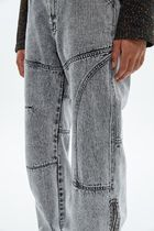 ANDERSSON BELL More Jeans Unisex Street Style Plain Oversized Jeans 4