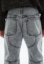 ANDERSSON BELL More Jeans Unisex Street Style Plain Oversized Jeans 9