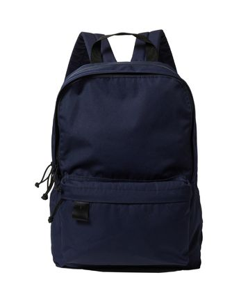 Unisex Canvas Street Style Plain Logo Backpacks