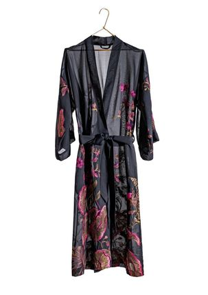 JAKOB SCHLAEPFER Flower Patterns Silk Loungewear Lounge & Sleepwear