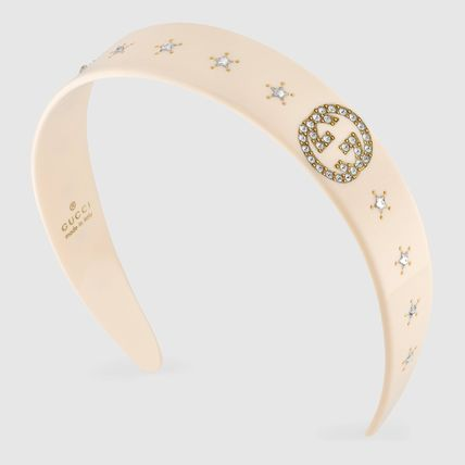 GUCCI Barettes Star Party Style Elegant Style Formal Style  Clips
