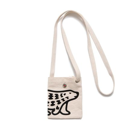 HUMAN MADE Unisex Canvas Street Style Plain Crossbody Bag