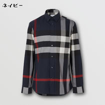 Burberry Shirts Tartan Street Style Long Sleeves Cotton Logo Luxury Shirts 8