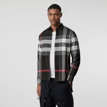Burberry Shirts Tartan Street Style Long Sleeves Cotton Logo Luxury Shirts 13