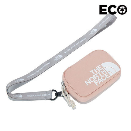 THE NORTH FACE WHITE LABEL Unisex Street Style Plain Logo Coin Cases