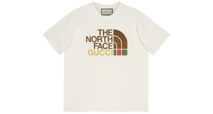GUCCI More T-Shirts Unisex Street Style Plain Oversized Luxury T-Shirts 2