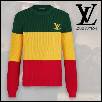 Louis Vuitton Sweaters Striped Pullover