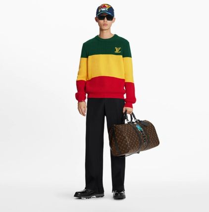 Louis Vuitton Sweaters Striped Pullover 2