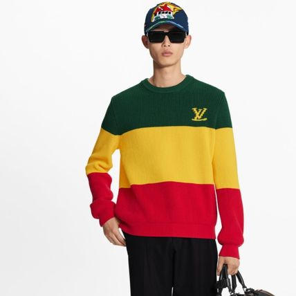 Louis Vuitton Sweaters Striped Pullover 3