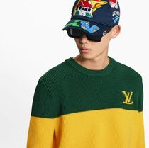 Louis Vuitton Sweaters Striped Pullover 4
