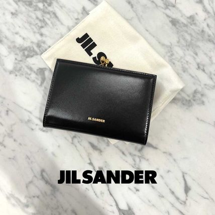 Jil Sander Plain Folding Wallets