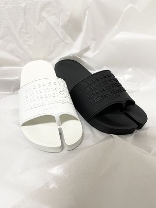 Maison Margiela Tabi Flipflop Logo Unisex Plain Sport Sandals Shower Shoes