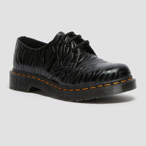 Dr Martens 1461 Plain Toe Round Toe Lace-up Casual Style Unisex