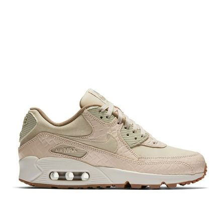 Nike AIR MAX 90 Rubber Sole Casual Style Unisex Python Logo Low-Top Sneakers