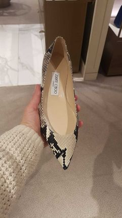 Jimmy Choo Casual Style Leather Party Style Office Style Elegant Style
