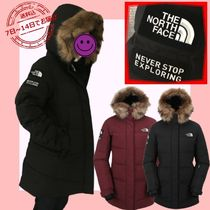 THE NORTH FACE Street Style Logo Down Jackets