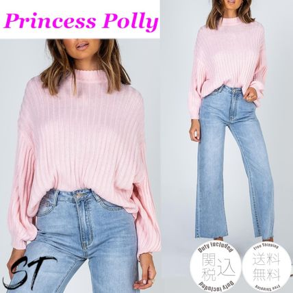 Casual Style Long Sleeves Plain Medium Street Style