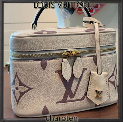 Louis Vuitton MONOGRAM Monogram Casual Style Calfskin Vanity Bags 3WAY Bi-color