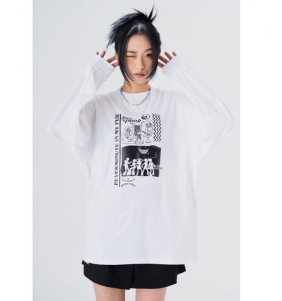 街头风格 长袖 Long Sleeve T-shirt T 恤