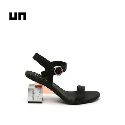 United Nude Strap Sandals Casual Style Plain Leather Party Style