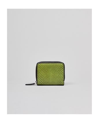 Python Folding Wallet Long Wallet  Small Wallet