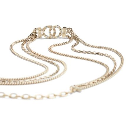 CHANEL Bridal Costume Jewelry Casual Style Party Style