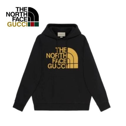 GUCCI Hoodies Pullovers Unisex Sweat Street Style Collaboration