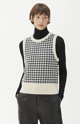 Other Plaid Patterns Zigzag Wool Vests