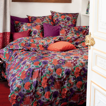 Flower Patterns Pillowcases Comforter Covers Ethnic