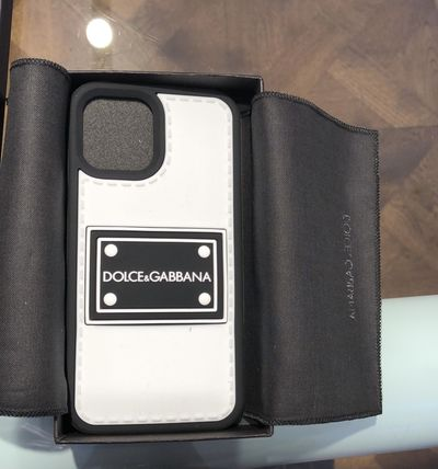 Dolce & Gabbana Silicon Logo Smart Phone Cases