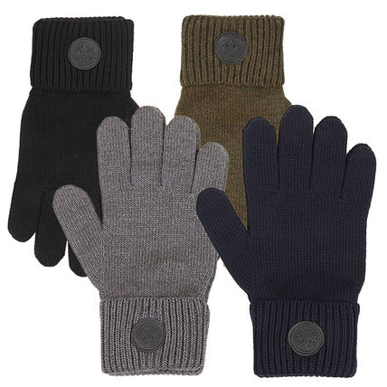 D SQUARED2 Wool Street Style Logo Gloves Gloves