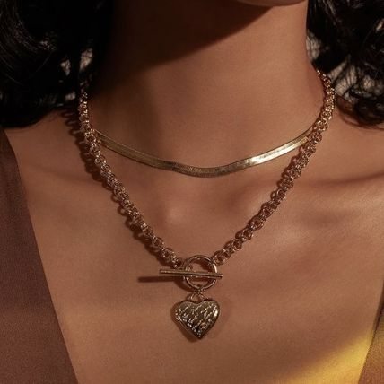 Casual Style Brass 14K Gold Necklaces & Pendants