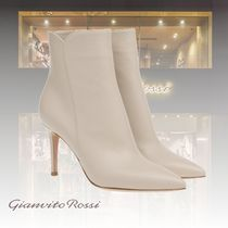 Gianvito Rossi Casual Style Leather Elegant Style High Heel Boots