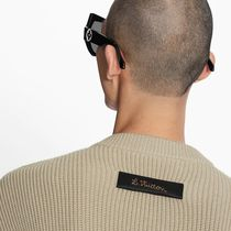 Louis Vuitton Sweaters Crew Neck Pullovers Unisex Blended Fabrics Street Style 7